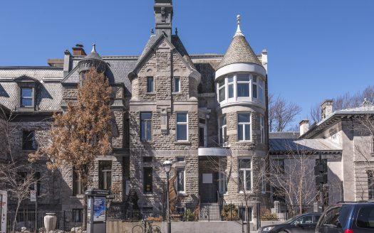 Immeuble à vendre - rue Sherbrooke Ouest